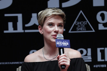 Scarlett Johansson 'Ghost In The Shell' Seoul Premiere