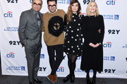 "Eugene Levy, Daniel levy, Annie Murphy and Catherine O'Hara attend the ""Schitt's Creek"" Screening & Conversation at 92nd Street Y on January 17, 2020 in New York City."
