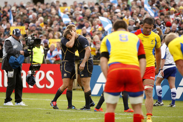 Simon Danielli Scotland v Romania - IRB RWC 2011 Match 2