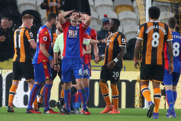 Scott Dann Hull City v Crystal Palace - Premier League