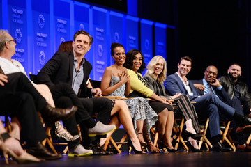 Scott Foley Guillermo Diaz The Paley Center for Media's 33rd Annual PaleyFest Los Angeles - 'Scandal' - Inside