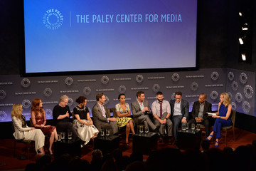 """Scott Foley Guillermo Diaz The Paley Center For Media Presents An Evening With The Cast Of """"Scandal"""""""