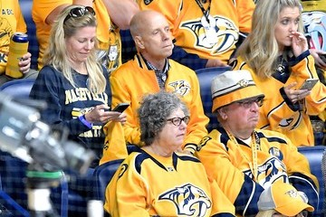 Scott Hamilton Celebrities Attend The 2017 NHL Stanley Cup Final - Game Six