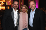 """Patty Hanson, Charles """"Chip"""" Esten and Rudy Gatlin attend the second annual 'An Evening Of Scott Hamilton & Friends' hosted by Scott Hamilton to benefit The Scott Hamilton CARES Foundation on November 19, 2017 in Nashville, Tennessee."""