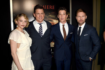 Scott Haze Premiere of DreamWorks Pictures and Universal Pictures' 'Thank You for Your Service' - Red Carpet