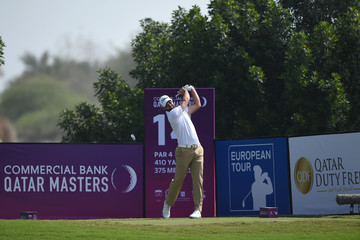 Scott Jamieson Commercial Bank Qatar Masters - Day Two