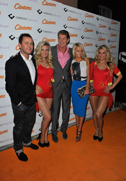 Clintons Celebrate Forthcoming UK Launch Of The Celebrity Fastcard [clintons celebrate forthcoming uk launch of the celebrity fastcard,event,fashion,award,scott mills,david hasselhoff,hayley roberts,alesha dixon,celebrity fastcard,uk,clintons,celebration,launch]