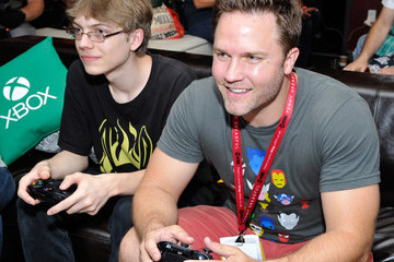 Scott Porter Xbox VIP Lounge At The Hard Rock Hotel