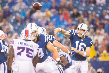 Scott Tolzien Indianapolis Colts v Buffalo Bills