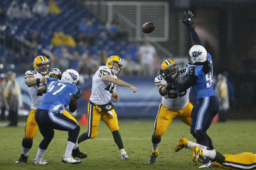Scott Tolzien Green Bay Packers v Tennessee Titans