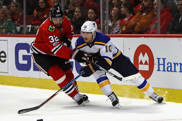 Scottie Upshall St Louis Blues v Chicago Blackhawks