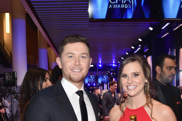 Scotty McCreery Moet & Chandon at the 51st Annual CMA Awards - Red Carpet