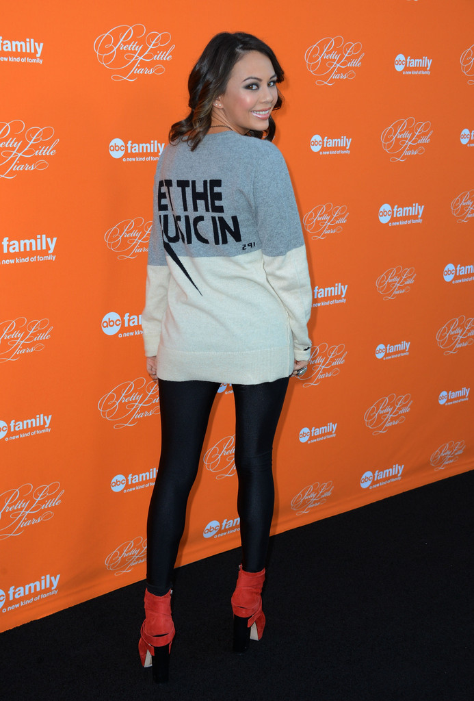 Janel Parrish Photos Photos Screening Of Abc Family 39 S Pretty Little Liars Special Halloween