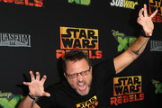 """Actor Steve Blum attends the Screening of Disney XD's """"Star Wars Rebels: Spark of Rebellion"""" at the AMC Century City 15 theater on September 27, 2014 in Century City, California."""