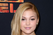 """Actress Olivia Holt attends the Screening of Disney XD's """"Star Wars Rebels: Spark of Rebellion"""" at the AMC Century City 15 theater on September 27, 2014 in Century City, California."""