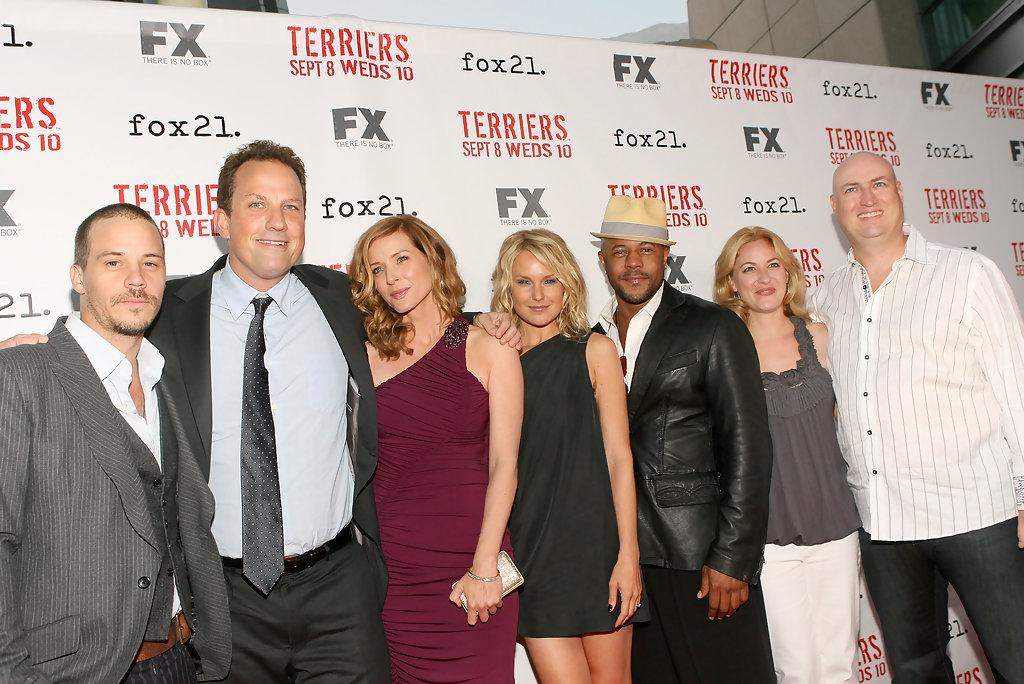Michael Raymond James Kimberly Quinn Photos Screening Of Fxs