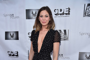 """Actress Analeigh Tipton attends a screening of Good Deed Entertainment's """"All Nighter"""" at Ahrya Fine Arts Theater on March 15, 2017 in Beverly Hills, California."""