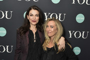 "Sera Gamble and Caroline Kepnes attend the Screening Of Lifetime's ""You"" Series Premiere on September 5, 2018 in New York City."