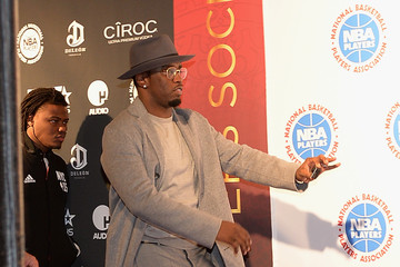 Sean Combs NBPA All-Star Players Social
