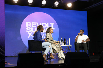 Sean Combs REVOLT X AT&T Host REVOLT 3-Day Summit In Los Angeles - Day 3