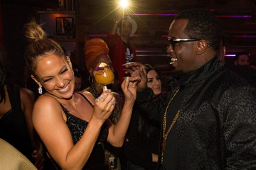 Sean Combs Jennifer Lopez's 2015 American Music Awards After Party