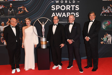 Sean Fitzpatrick Red Carpet - 2018 Laureus World Sports Awards - Monaco