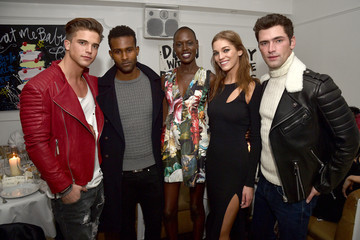 Sean O'Pry Philipp Plein Dinner at Bagatelle