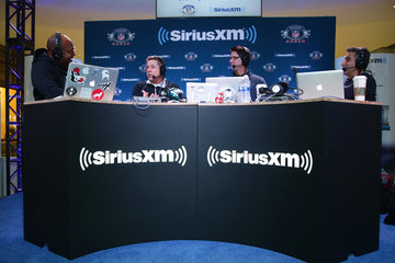 Sean Payton SiriusXM at Super Bowl LII