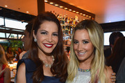 """TV Personality Julia Allison (L) and  executive producer Ashley Tisdale attend the season premiere viewing party of Bravo's """"Miss Advised"""" hosted by Executive Producer Ashley Tisdale held at Planet Dailies & Mixology 101 on June 18, 2012 in Los Angeles, California."""
