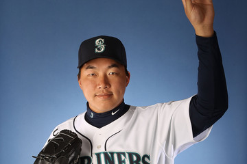 Hong-Chih Kuo Seattle Mariners Photo Day