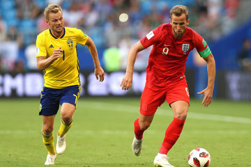 Sebastian Larsson Sweden vs. England: Quarter Final - 2018 FIFA World Cup Russia