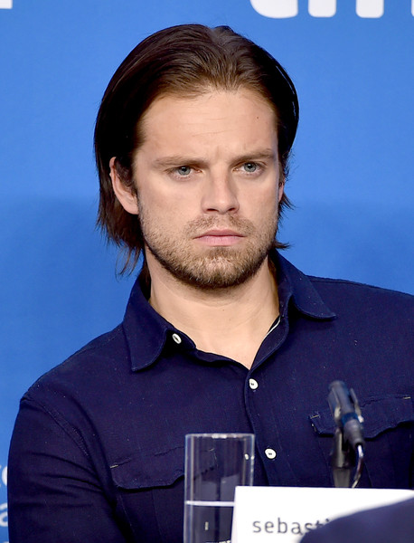 ... this photo sebastian stan actor sebastian stan speaks onstage during