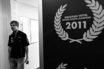 Sebastian Vettel F1 Grand Prix of Brazil - Previews