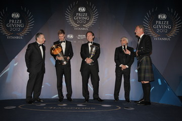 Sebastian Vettel 2012 FIA Gala Prize Giving Ceremony