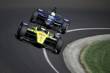 Sebastien Bourdais 102nd Running Of The Indianapolis 500 - Carb Day