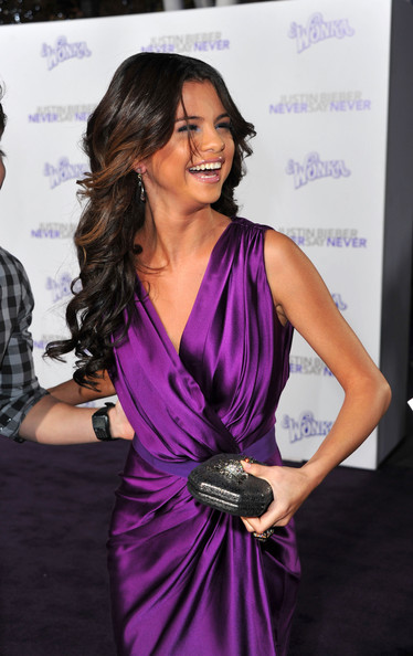 justin bieber red carpet with selena gomez. Selena Gomez Singer/actress