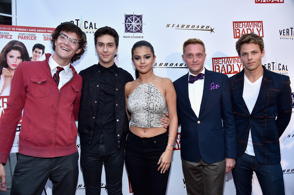 'Behaving Badly' Premieres in Hollywood [premiere,event,red carpet,tim garrick,lachlan buchanan,actors,nate hartley,selena gomez,behaving badly,arclight hollywood,premiere,premiere]