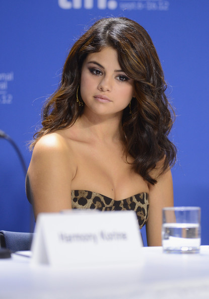 "Selena Gomez - ""Spring Breakers"" Press Conference - 2012 Toronto International Film Festival"
