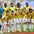 James Rodriguez Radamel Falcao Photos - The Colombia players pose for a team photo prior to the 2018 FIFA World Cup Russia group H match between Senegal and Colombia at Samara Arena on June 28, 2018 in Samara, Russia. - Senegal vs. Colombia: Group H - 2018 FIFA World Cup Russia