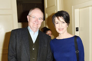 """Actors Jim Broadbent and Harriet Walter attend the """"The Sense of an Ending"""" Lunch & Q and A at The Lotus Club on March 7, 2017 in New York City."""