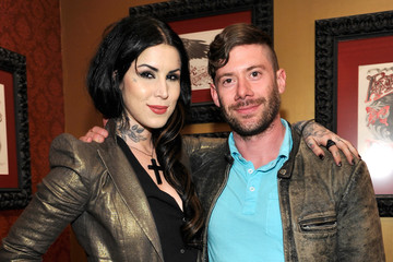 Wes Borland Kat Von D at the Sephora VIP Party