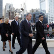 Michael Bloomberg and David Paterson
