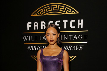 Serayah McNeill Farfetch and William Vintage Celebrate Gianni Versace Archive hosted by Elizabeth Stewart and William Banks-Blaney