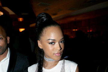 Serayah Vanity Fair and L'Oreal Paris Toast to Young Hollywood, Hosted by Dakota Johnson and Krista Smith