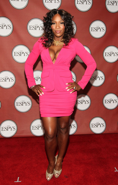 Serena Williams Professional tennis player Serena Williams attends The 2011 ESPY Awards at Nokia Theatre L.A. Live on July 13, 2011 in Los Angeles, California.
