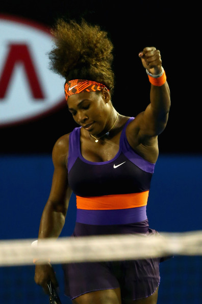 Venus & Serena Williams - 3 - Page 4 Serena+Williams+2013+Australian+Open+Day+8+8JzqeTAwN8xl