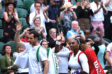 Serena Williams Andy Murray Day Six: The Championships - Wimbledon 2019