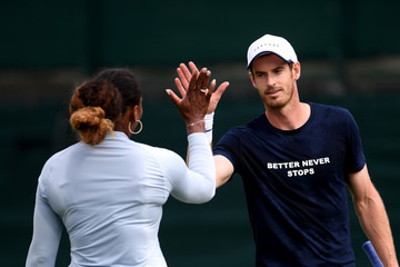 Serena Williams Andy Murray European Best Pictures Of The Day - July 06, 2019
