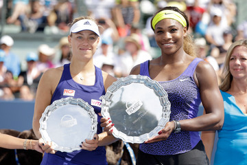 Serena Williams Angelique Kerber Bank of the West Classic: Day 7