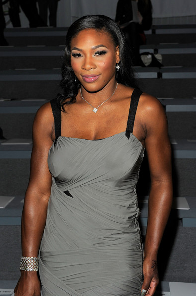 Serena Williams Tennis player Serena Williams attends the Vera Wang Spring 2011 fashion show during Mercedes-Benz Fashion Week at The Stage at Lincoln Center on September 14, 2010 in New York City.